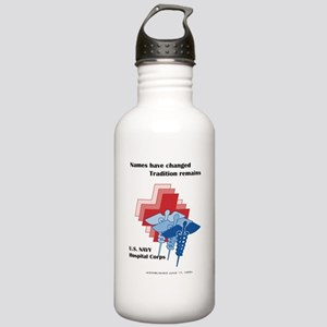 Navy Corpsman Stainless Water Bottle 1.0L