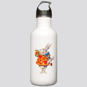 ALICE - THE WHITE RABBIT Stainless Water Bottle 1.