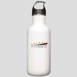 Sinking Titanic Stainless Water Bottle 1.0L
