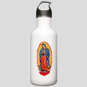Virgin of Guadalupe Stainless Water Bottle 1.0L