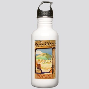 Pompei Italy ~ Vintage Stainless Water Bottle 1.0L