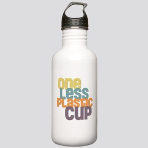 One Less Plastic Cup Stainless Water Bottle 1.0L