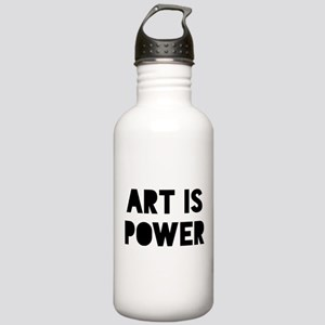 Art is Power Stainless Water Bottle 1.0L