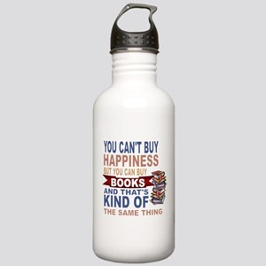 Books Rock Water Bottle