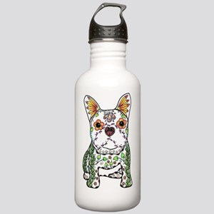 Sugar Skull Frenchie Stainless Water Bottle 1.0L