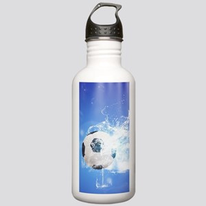 Soccer with water slpash Water Bottle