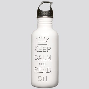 kc read on Stainless Water Bottle 1.0L