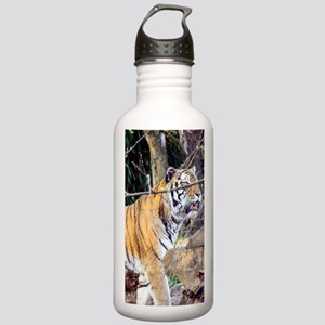 Tiger in the woods Stainless Water Bottle 1.0L