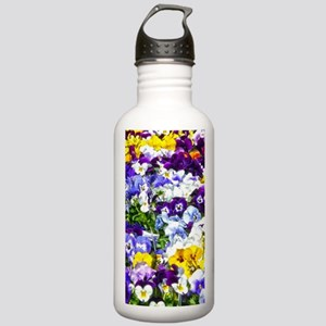 Pansies Water Bottle