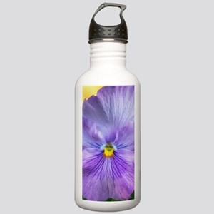 Lavender Pansy Stainless Water Bottle 1.0L