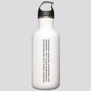 Dihydrogen Monoxide Containment Water Bottle