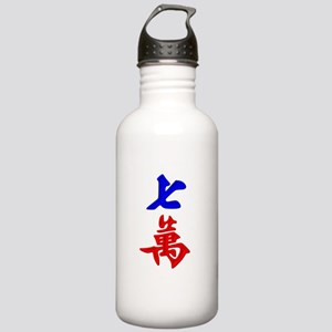 7 Character Tile Stainless Water Bottle 1.0L