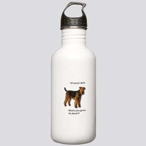 Guilty Airedale Shows Stainless Water Bottle 1.0L