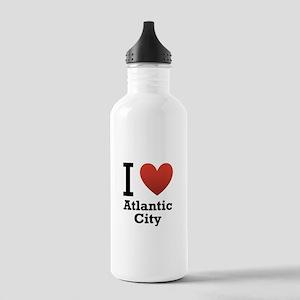 I Love Atlantic City Stainless Water Bottle 1.0L