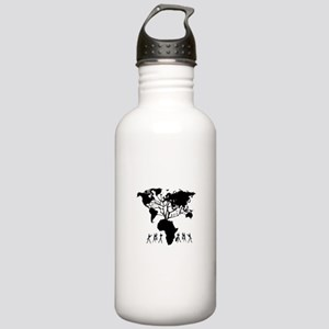 Africa Genealogy Tree Stainless Water Bottle 1.0L
