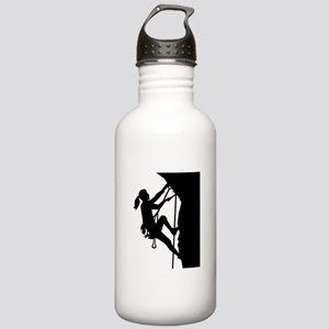 Climbing woman girl Stainless Water Bottle 1.0L