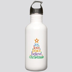 Joy Love Christmas Stainless Water Bottle 1.0L