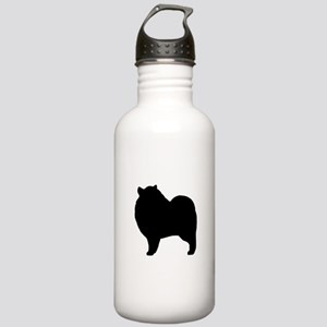 Keeshond Silhouette Stainless Water Bottle 1.0L