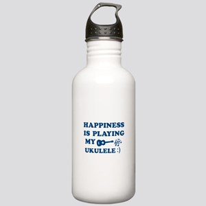 Ukulele Vector Designs Stainless Water Bottle 1.0L