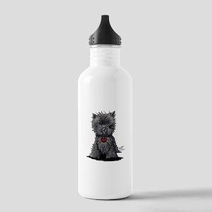 Affenpinscher Stainless Water Bottle 1.0L