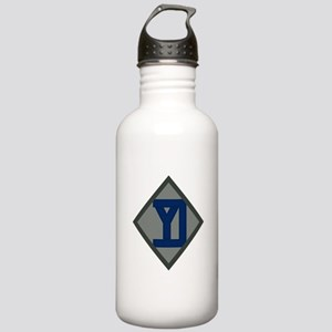 26th Infantry Yankee Div Stainless Water Bottle 1.