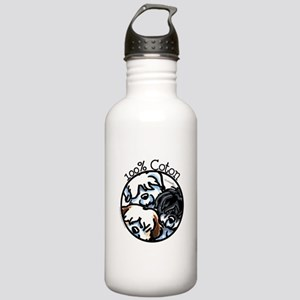 100% Coton Stainless Water Bottle 1.0L