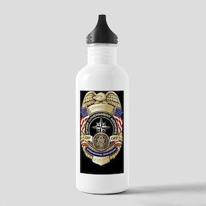 2-OGA Badge Sticker Stainless Water Bottle 1.0L