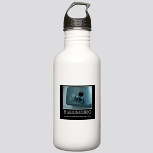 Infection Control Humor 01 Stainless Water Bottle