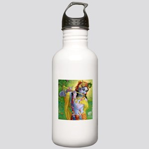 I Love you Krishna. Stainless Water Bottle 1.0L