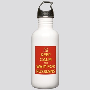 Keep Calm and Wait for Stainless Water Bottle 1.0L