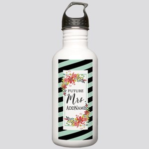 Future Mrs Floral Stri Stainless Water Bottle 1.0L