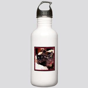 Three Cats Stainless Water Bottle 1.0L