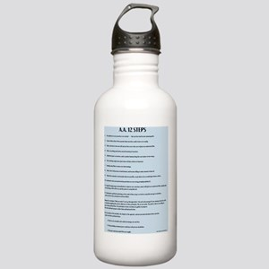A.A. 12 Steps Stainless Water Bottle 1.0L