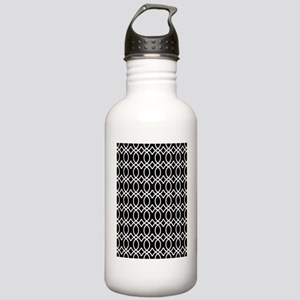 Ogee Links 5x7 White B Stainless Water Bottle 1.0L