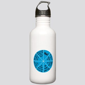 IT Wheel of Answers. Stainless Water Bottle 1.0L