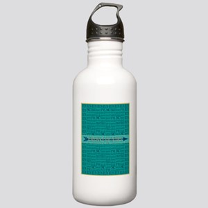 Cross Country Run Coll Stainless Water Bottle 1.0L