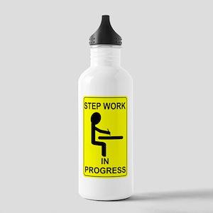 StepWorkInProgressSmal Stainless Water Bottle 1.0L