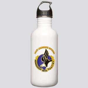DUI - 101st Airborne Division with Text Stainless