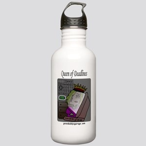 Queen of Deadlines Stainless Water Bottle 1.0L
