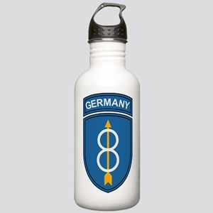 Army-8th-Infantry-Div- Stainless Water Bottle 1.0L