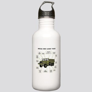 M35A2 Cargo Truck Stainless Water Bottle 1.0L
