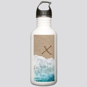 LETTERS IN SAND X Water Bottle
