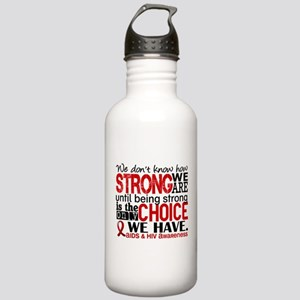 AIDS How Strong We Are Stainless Water Bottle 1.0L