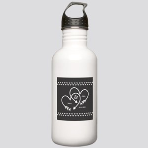 Mr. and Mrs. Wedding C Stainless Water Bottle 1.0L
