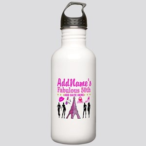 50TH BIRTHDAY Stainless Water Bottle 1.0L