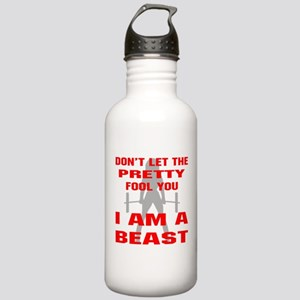Female I Am A Beast Stainless Water Bottle 1.0L