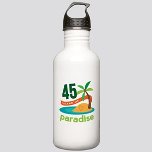 45th Anniversary (tropical) Stainless Water Bottle