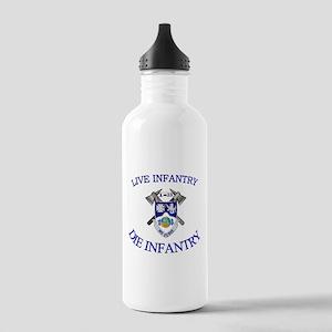 1st Bn 23rd Infantry Stainless Water Bottle 1.0L