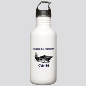 USS EISENHOWER Stainless Water Bottle 1.0L