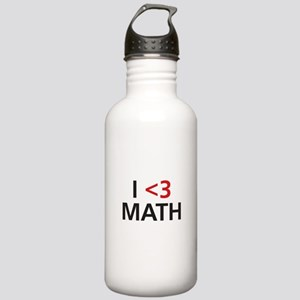 I <3 Math Stainless Water Bottle 1.0L